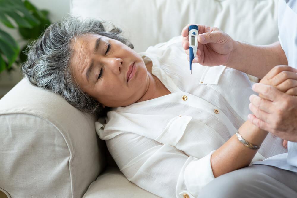 インフルエンザワクチンが受けれない高齢者が出てくる可能性