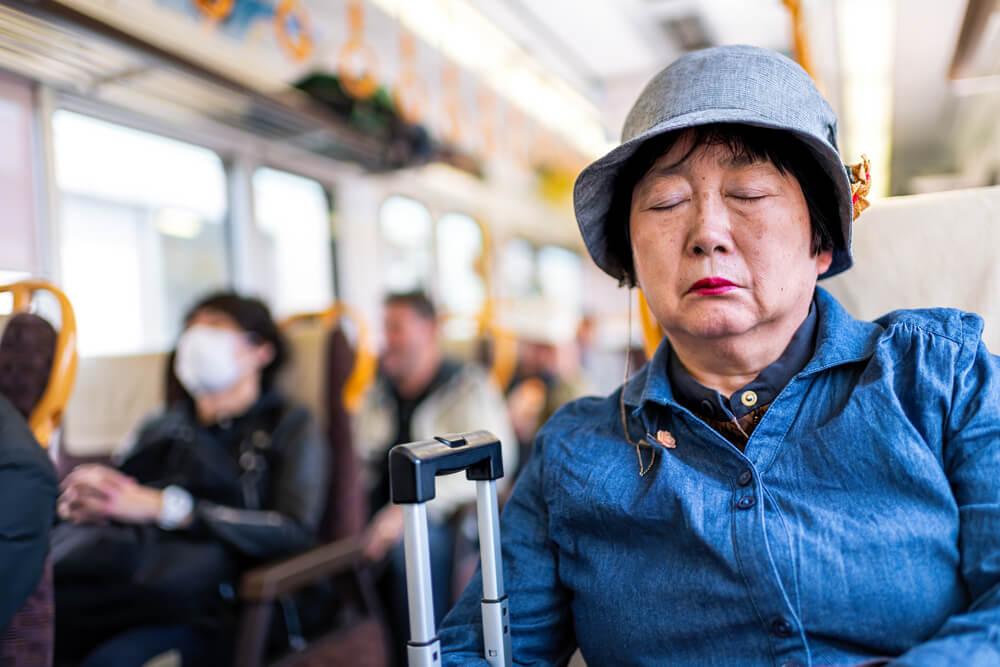 福岡の高齢者乗車券の対象者